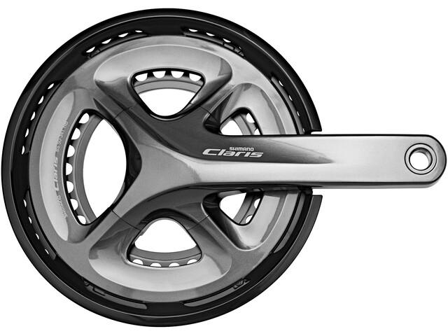 Shimano Claris FC-R2000 Krank 2x8-speed 50-34 tænder grå